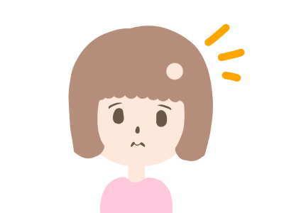 小児脱毛症